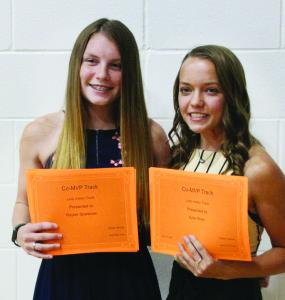 Girls Track Awards